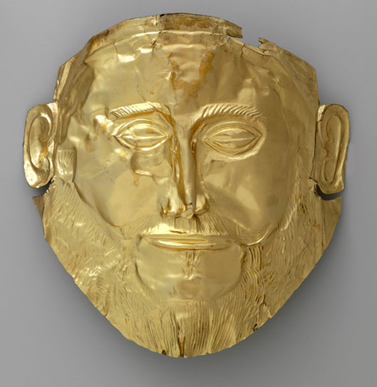 Image 5- mask of Agamemnon