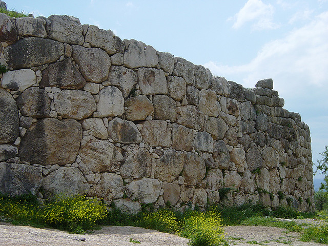 Image 4- cyclopean walls